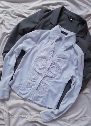 Сорочка блузка з вишивкою