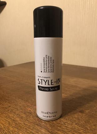 Термозащитный спрей для волос inebrya style-in thermo spray