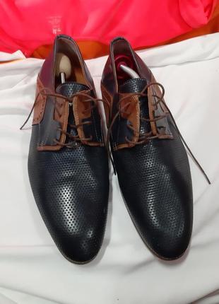 Кожаные туфли  otto berg
