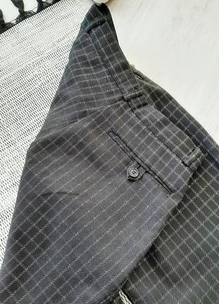 Модные брюки в клетку , штаны в клетку  шерстяные штаны в клетку5 фото