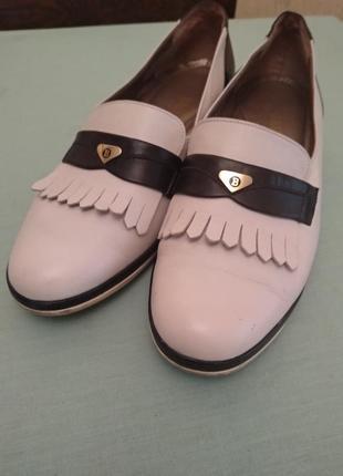 Суперовые туфли bally/швейцария, оригинал