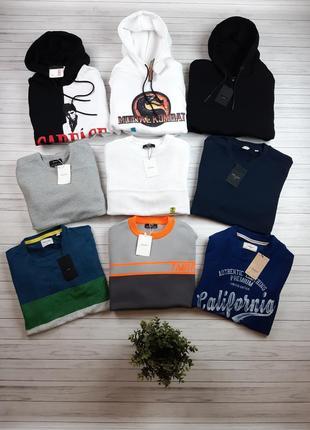 Большой выбор мужских худи, свитшотов, кофт, джемперов и свитеров, все оригинал