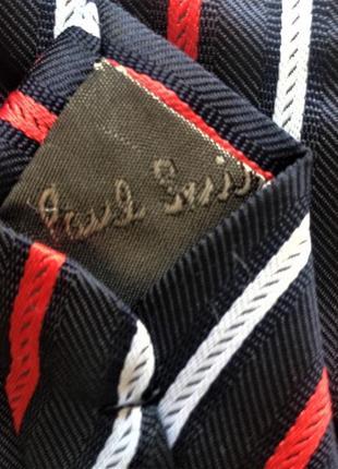 Paul smith .шелковый галстук  . оригинал .