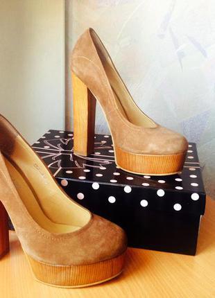 Замшевые туфли, бренд: attizzare