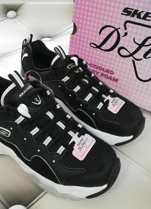 Эффектные кроссовки американского бренда skechers d'lites 3 - zenway
