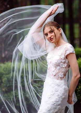 Свадебное платье millanova6 фото