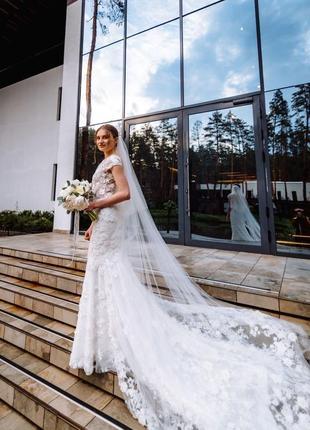Свадебное платье millanova5 фото