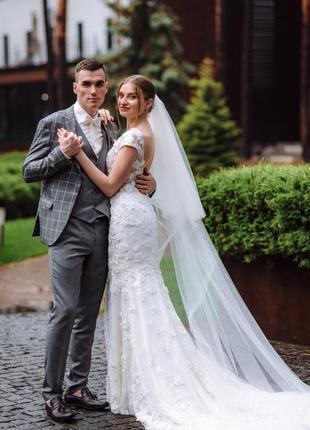 Свадебное платье millanova8 фото