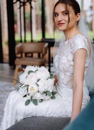 Свадебное платье millanova7 фото