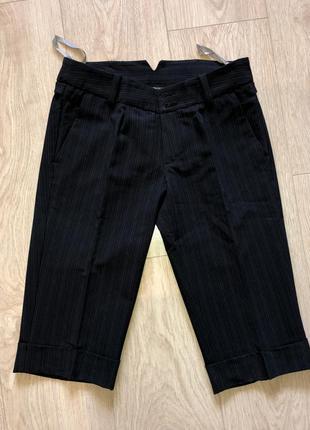 Брючные длинные шорты