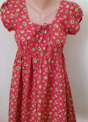 Платье летнее с принтом joe browns
