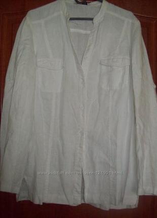 Рубашка лен 48 р