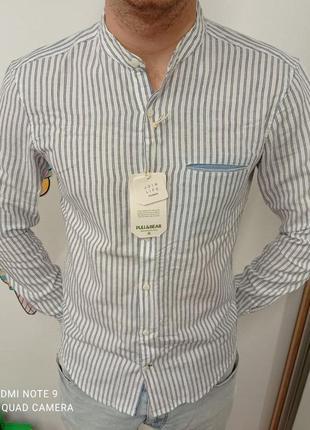 Рубашка pull&bear мужские рубашки pull bear