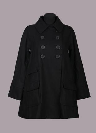 Демисезонное пальто 60%шерсть