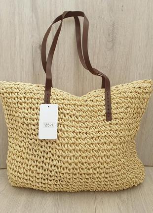 Стильная женская пляжная/городская сумка,коттоновая