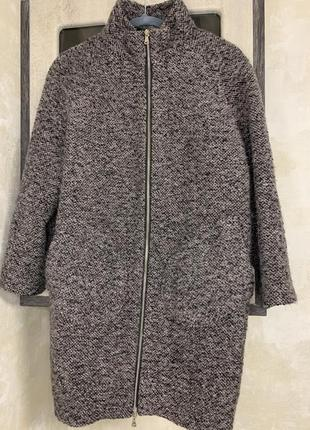 Шерстянное пальто