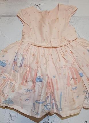 Плаття mothercare 6-9 міс