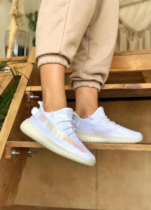Adidas yeezy boost 350 ice cream 🍏 стильные женские кроссовки адидас изи 350