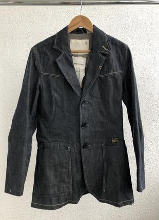 G-star handcrafted ручной работы джинсовая куртка