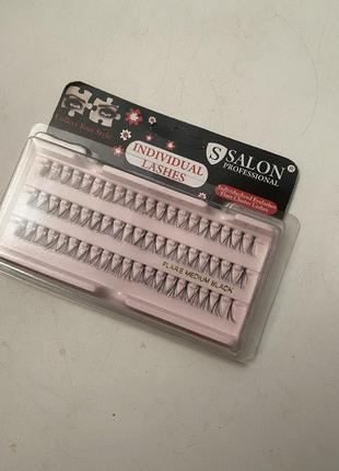 Накладные ресницы (пучки) salon новые