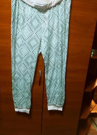 Домашние штаны большой размер батал пижама
