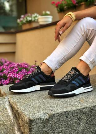 Adidas zx 500 rm 🍏 стильные женские мужские  кроссовки адидас
