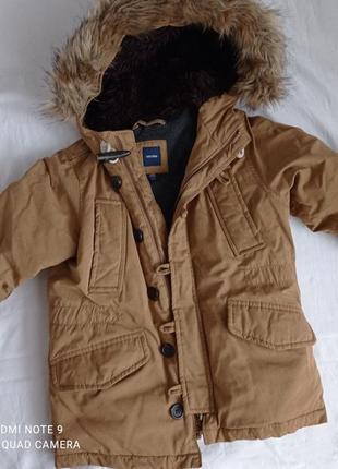 Куртка парка крутезна від babygap