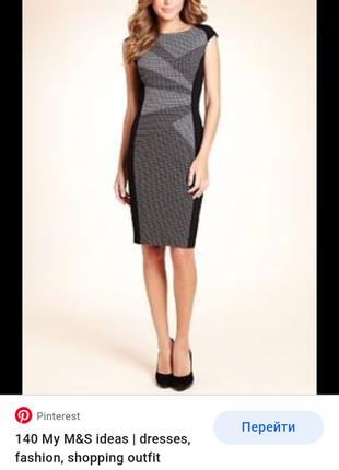 M&s woman платье эффектное деловое