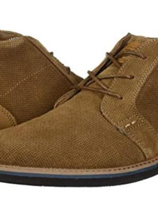 Шкіряні черевики чукка, р.40, nunn bush, сша / ботинки