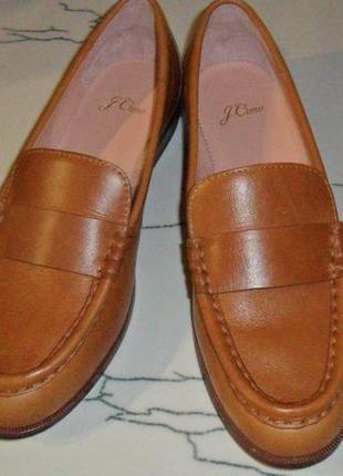 Фирменные туфли -лоферы из usa по цене распродажи