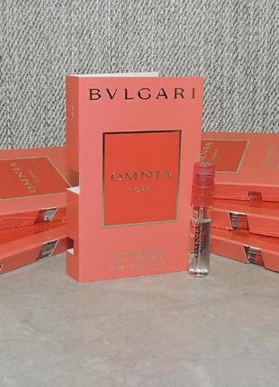 Bvlgari omnia coral пробник для женщин оригинал