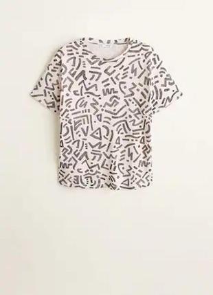 Блуза футболка кофта женская  mango манго оригинал
