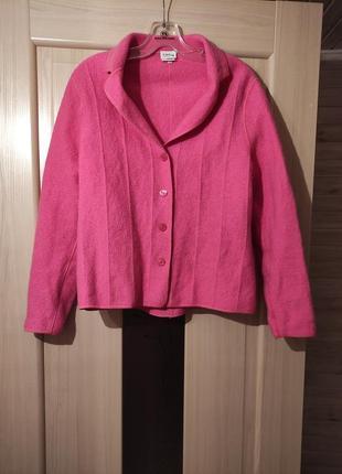 100% шерсть винтажный пиджак блейзер от  lucia