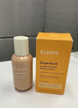 Увлажняющий крем для лица elemis superfood glow priming moisturiser