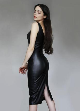 Платье кожаное от bodak