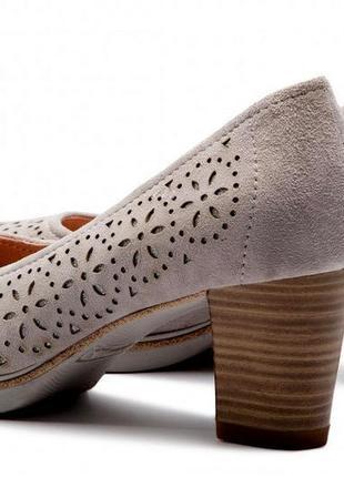 Туфли tamaris раз 39 двойная стелька эргономической формы для ходьбы без утомления