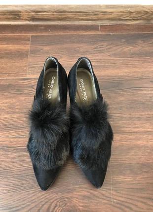 Туфли замшевые carlo pazolini 37 p