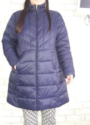 Курточка удлиненная пальто весенее размер 20