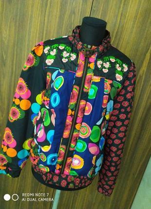 Куртка,ветровка, бомбер премиум бренда desigual