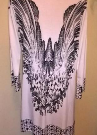 Удлиненная-блуза-кардиган на л-хл-ххл размер декорирована камнями