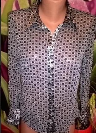 Блуза шелк на с-м размер