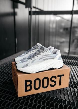Adidas yeezy 700 static 🍏 стильные женские кроссовки адидас изи 700 adidas