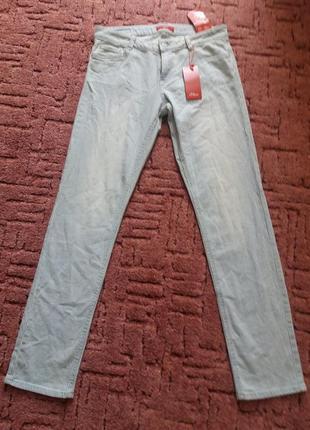 S.oliver slim новые джинсы в полоску p.12/32