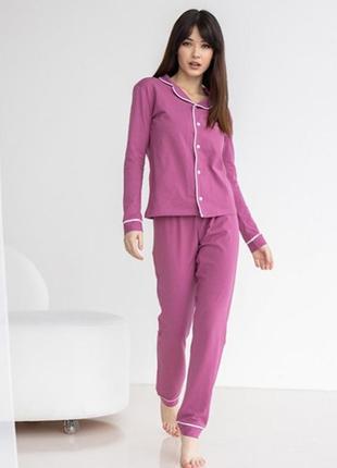 Пижама женская со штанами 7003