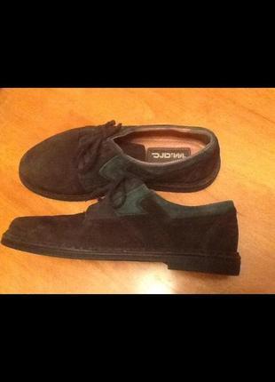 Итальянские кожаные туфли 40 {26}