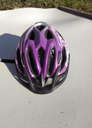 Детский велосипедный шлем велошлеspeq , германия, размер 49-54см.  260 грм