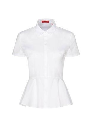 Шикарная женственная белая блуза / рубашка