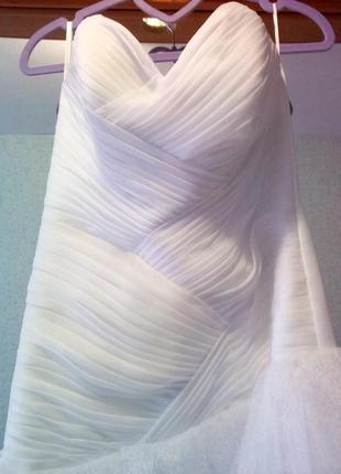 Эксклюзивное свадебное платье распродажа