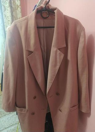 Пиджак, дуже стильний,пудровий, оверсайз3 фото
