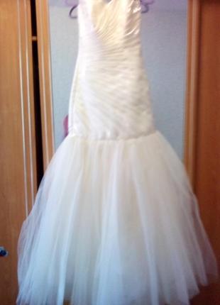 Шикарное свадебное платье распродажа
